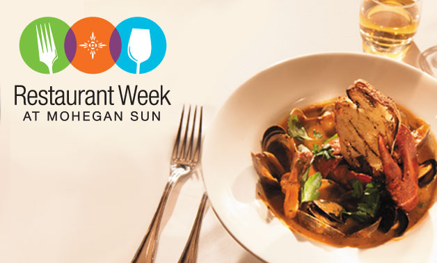 mohegan sun restaurant week