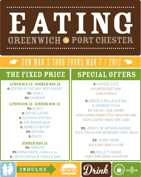 greenwich port chester restaurant week