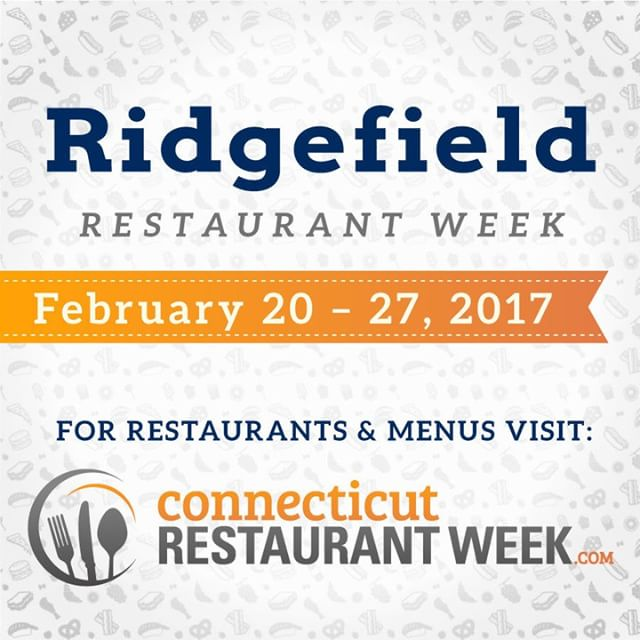 Ridgefield Restaurant Week kicks off tomorrow! Participating restaurants are servinghellip