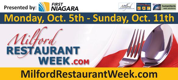 milford restaurant week header 2015