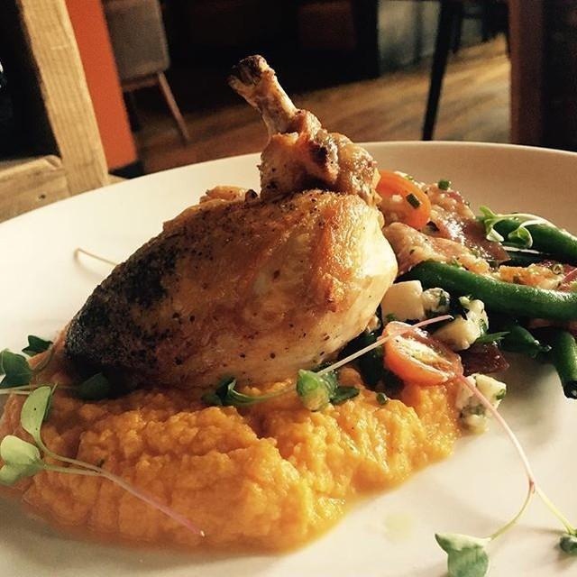 Its TasteofHartford amp fireboxrestaurant has this organic chicken dinner servedhellip
