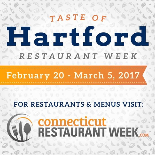 Taste of Hartford Restaurant Weeks kick off today! Participating restaurantshellip