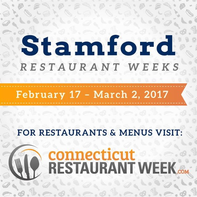Stamford Winter Restaurant Weeks kick off today! 24 participating restaurantshellip