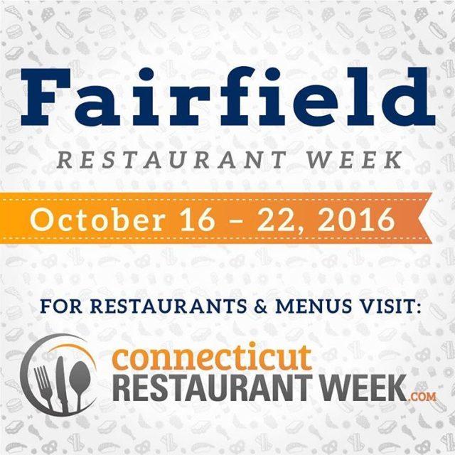 Fairfield Restaurant Week is here! Over 35 participating restaurants arehellip