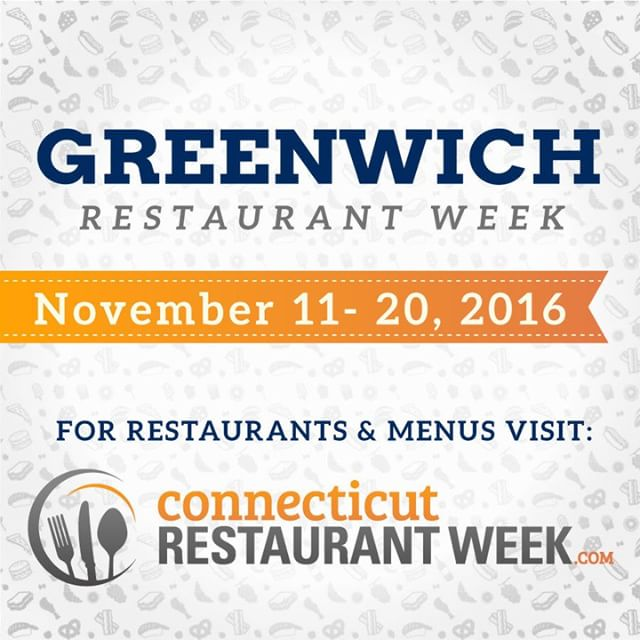 Greenwich Restaurant Week is here! 40 participating restaurants are servinghellip