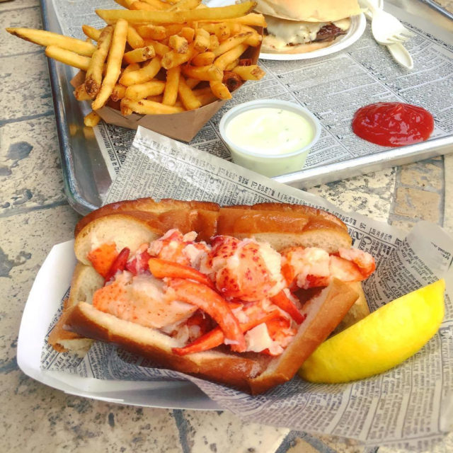 The Lobster Roll from Heibecks Stand in Wilton  Courtesyhellip