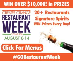 Greater Orange Restaurant Week